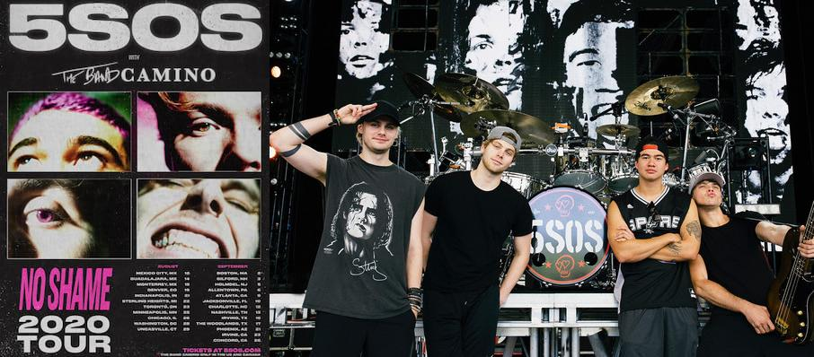 5 Seconds of Summer at PNC Bank Arts Center