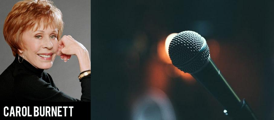 Carol Burnett at State Theatre