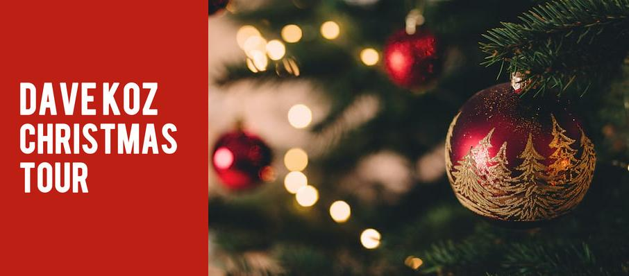 Dave Koz Christmas Tour at State Theatre