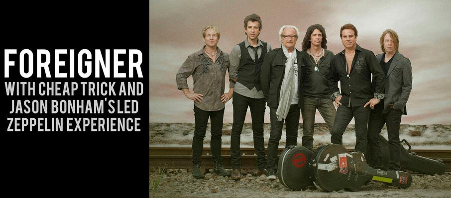 Foreigner with Cheap Trick and Jason Bonhams Led Zeppelin Experience at PNC Bank Arts Center