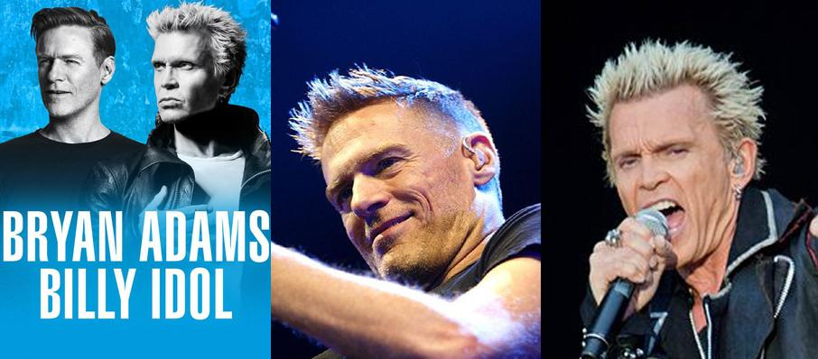 Bryan Adams and Billy Idol at PNC Bank Arts Center