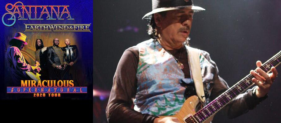 Santana with Earth Wind and Fire at PNC Bank Arts Center