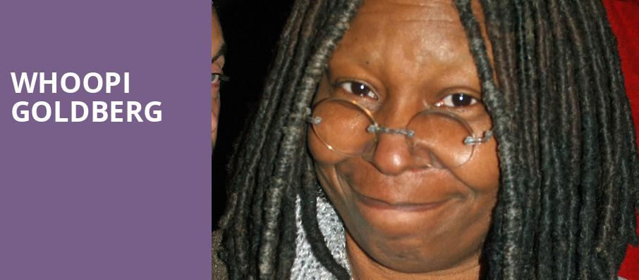 Whoopi Goldberg, State Theatre, New Brunswick
