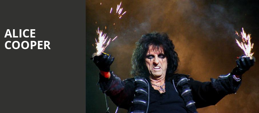 Alice Cooper, PNC Bank Arts Center, New Brunswick