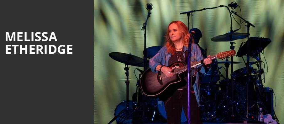 Melissa Etheridge, State Theatre, New Brunswick