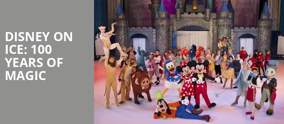 Disney on Ice 100 Years of Magic, Sun National Bank Center, New Brunswick