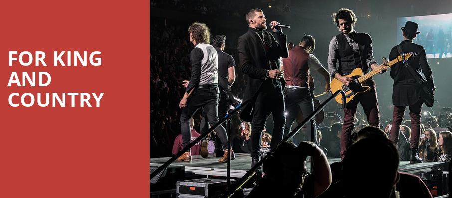 For King And Country, CURE Insurance Arena, New Brunswick