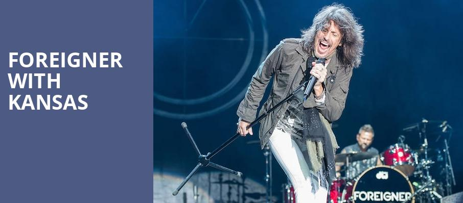 Foreigner with Kansas, PNC Bank Arts Center, New Brunswick