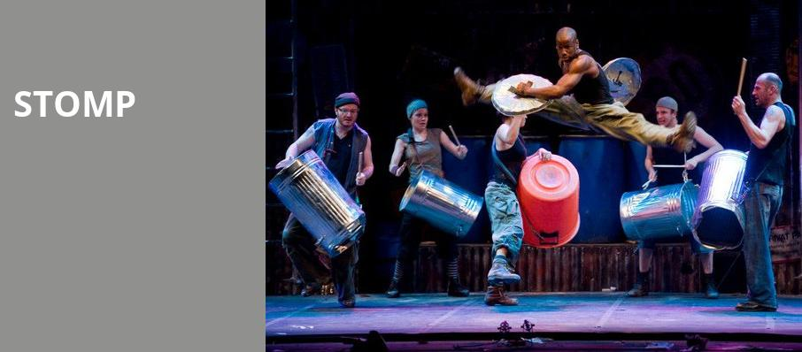 Stomp, State Theatre, New Brunswick