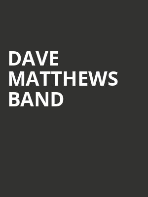 Dave Matthews Band, PNC Bank Arts Center, New Brunswick