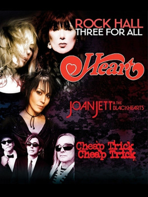 Heart Joan Jett and The Blackhearts Cheap Trick, PNC Bank Arts Center, New Brunswick